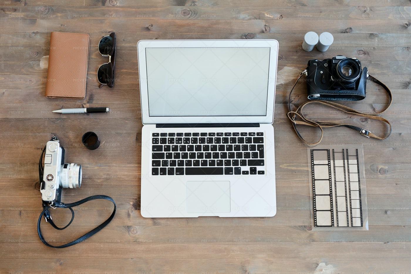 Photographers Workplace: Stock Photos