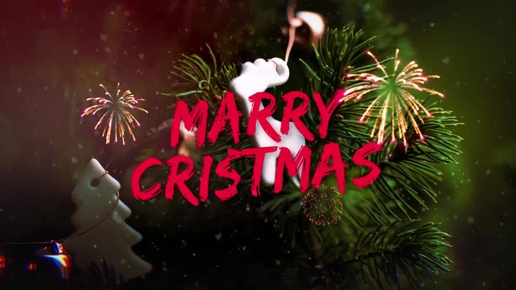 Quick Christmas Slideshow: After Effects Templates