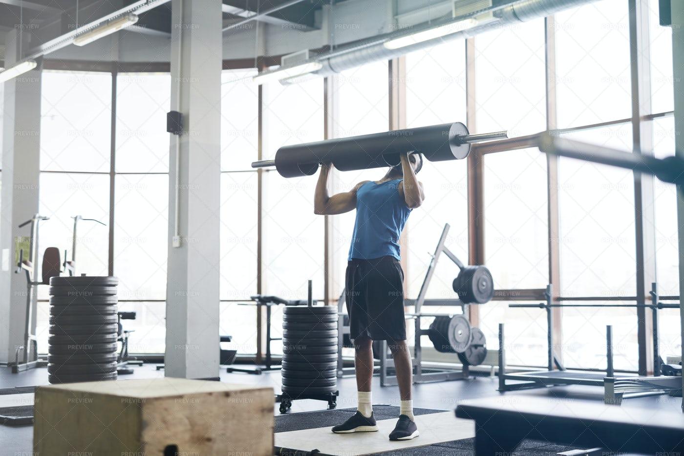 Man Lifting Weights: Stock Photos