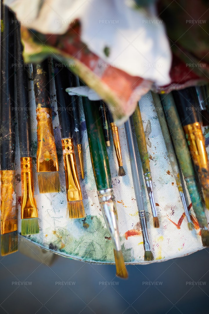 Art Supplies: Stock Photos