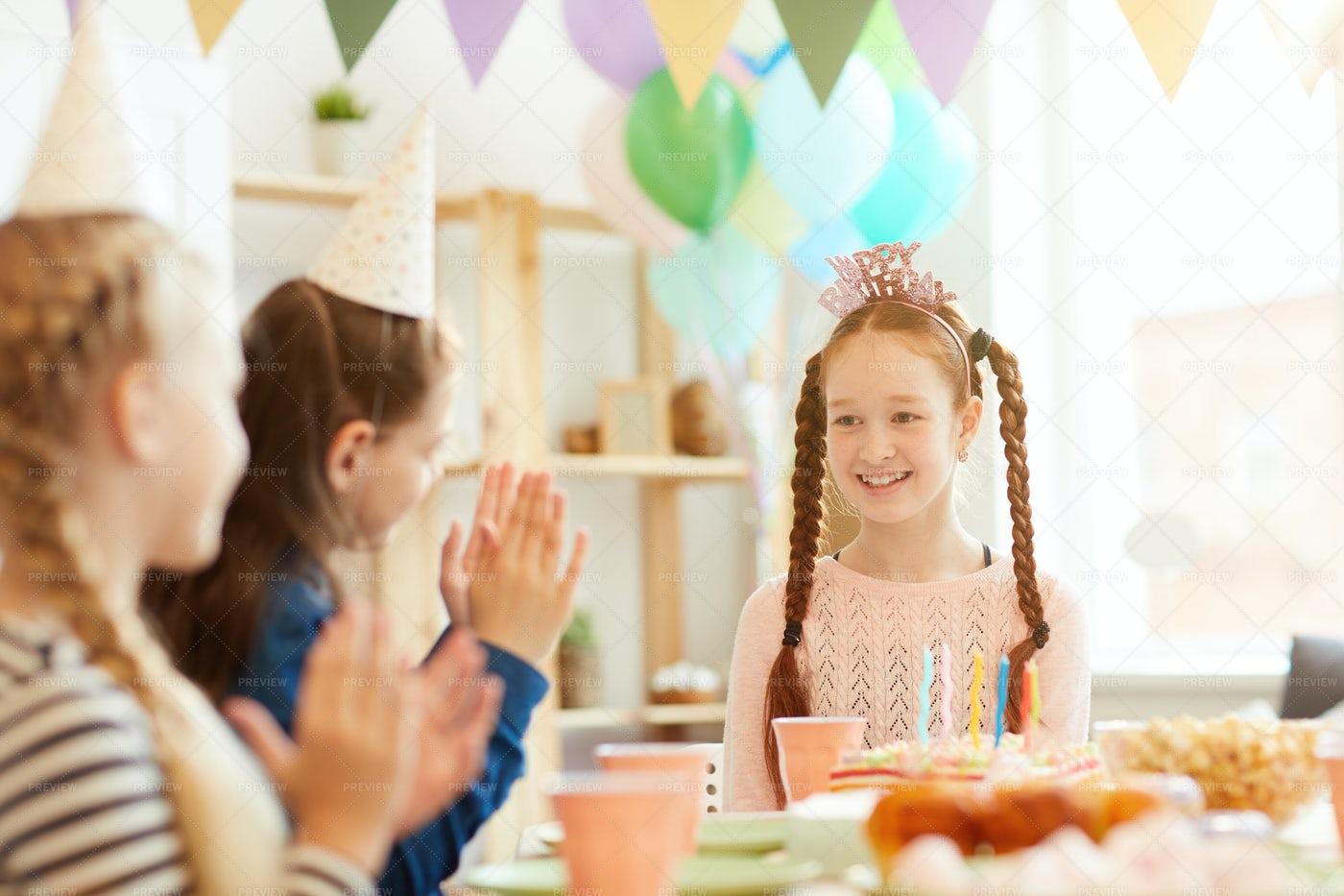 Birthday Girl: Stock Photos