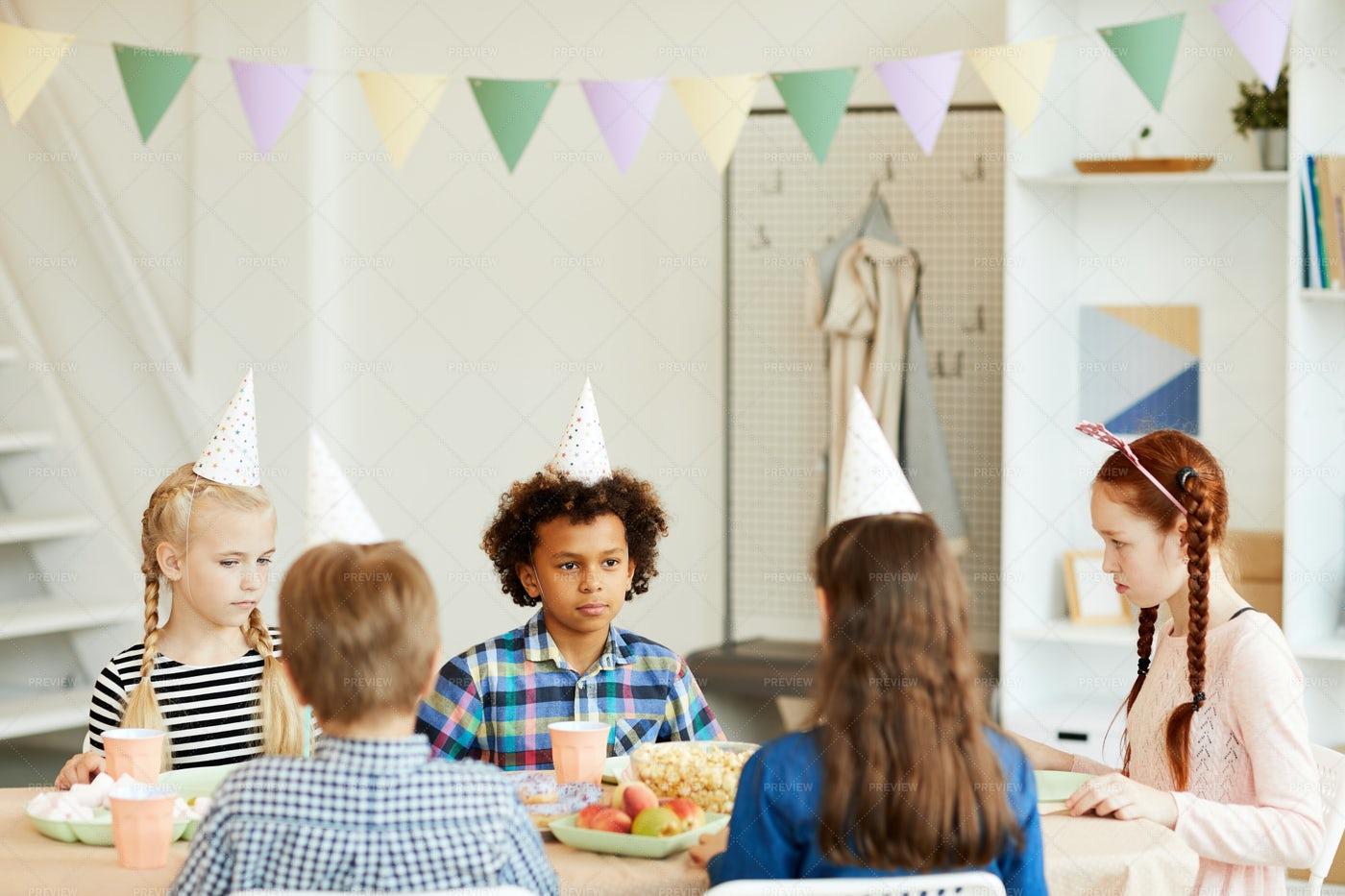 Birthday Party For Children: Stock Photos