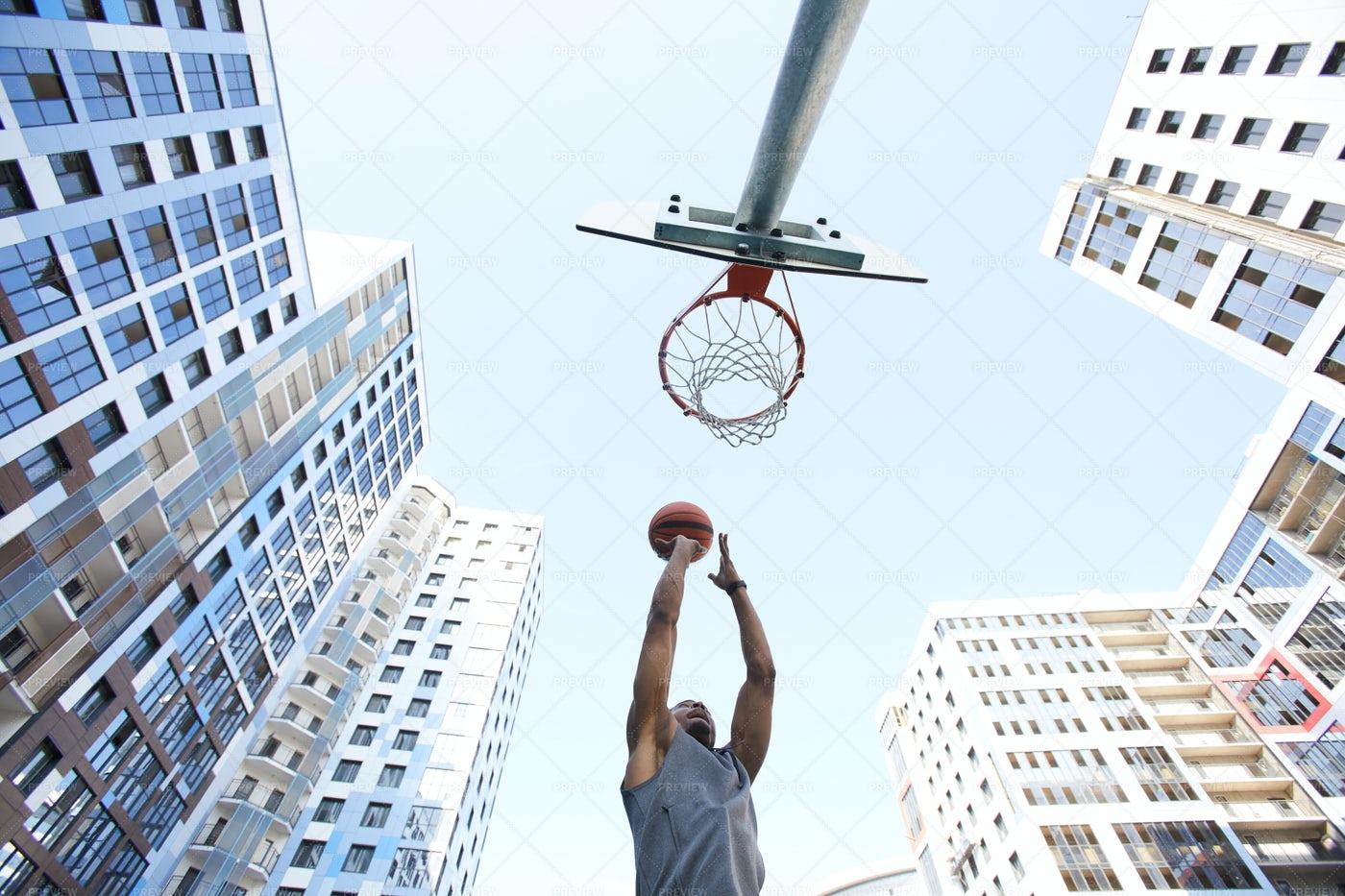 Basketball Background: Stock Photos