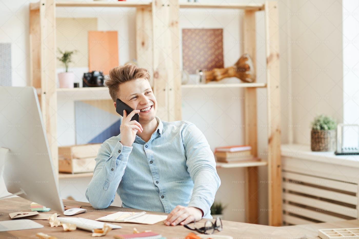 Positive Entrepreneur...: Stock Photos