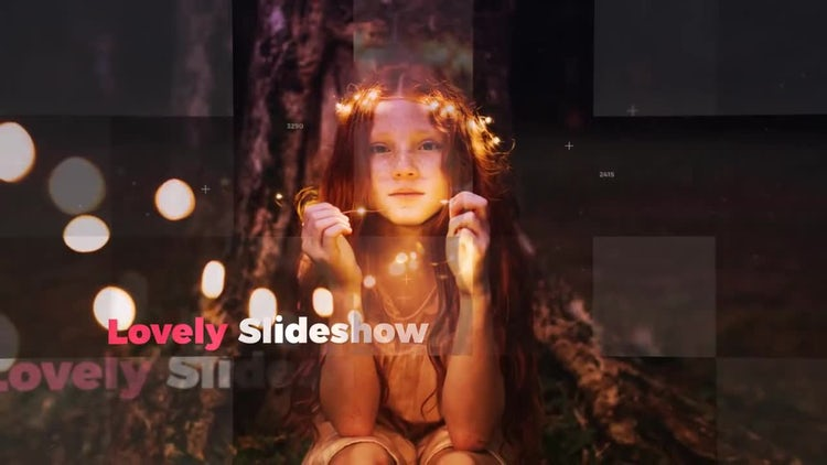 Lovely Slideshow: After Effects Templates