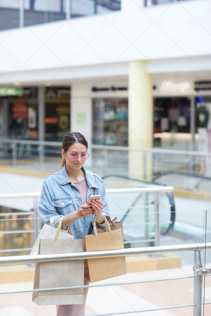 Making Post About Shopping: Stock Photos