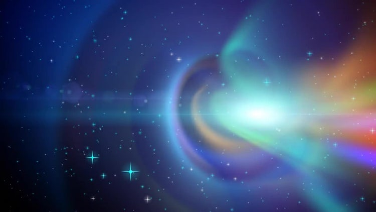 Space Background Loop: Stock Motion Graphics