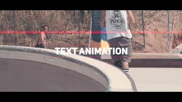Dynamic Glitch Slideshow Opener: After Effects Templates