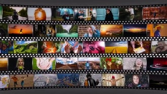 Short Media Frame: After Effects Templates