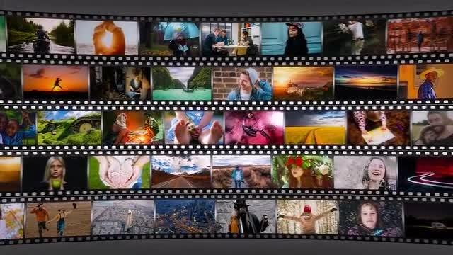 Short Media Frame: After Effects Templates