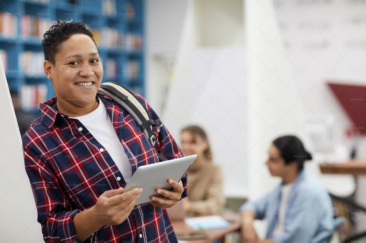 College Student Smiling: Stock Photos