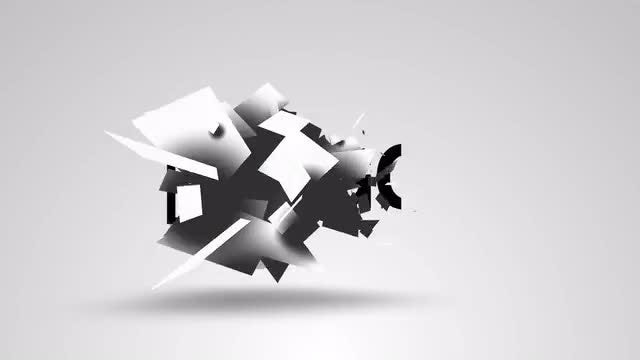 Abstract Logo Reveal: After Effects Templates