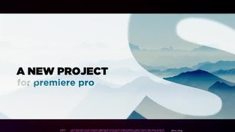 Abstract Title Sequence: Premiere Pro Templates