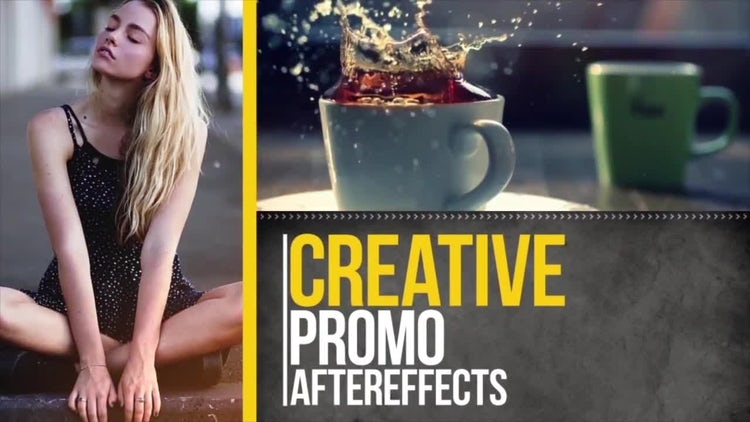 Sliding Opener: After Effects Templates