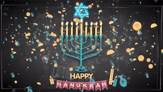 Happy Hanukkah: After Effects Templates
