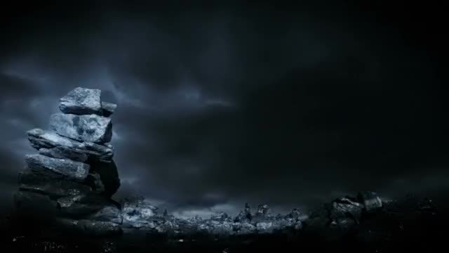 Dark Fantasy Background: Stock Motion Graphics
