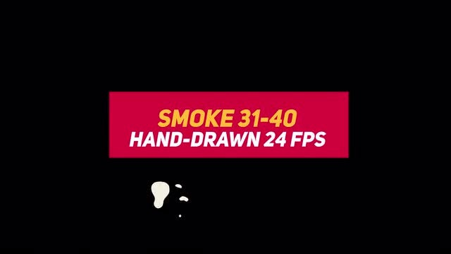 Liquid Elements Smoke 31-40: Stock Motion Graphics