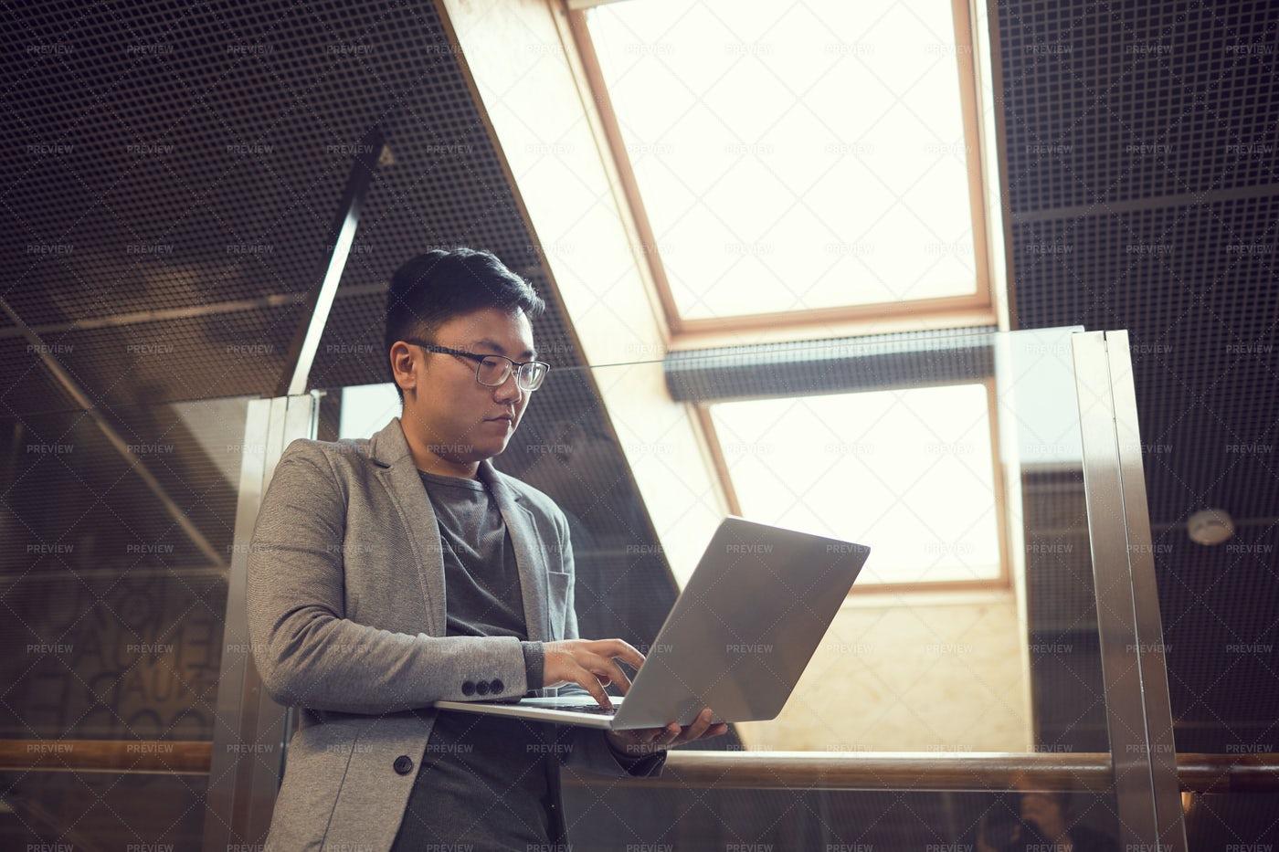 Successful Asian Entrepreneur: Stock Photos