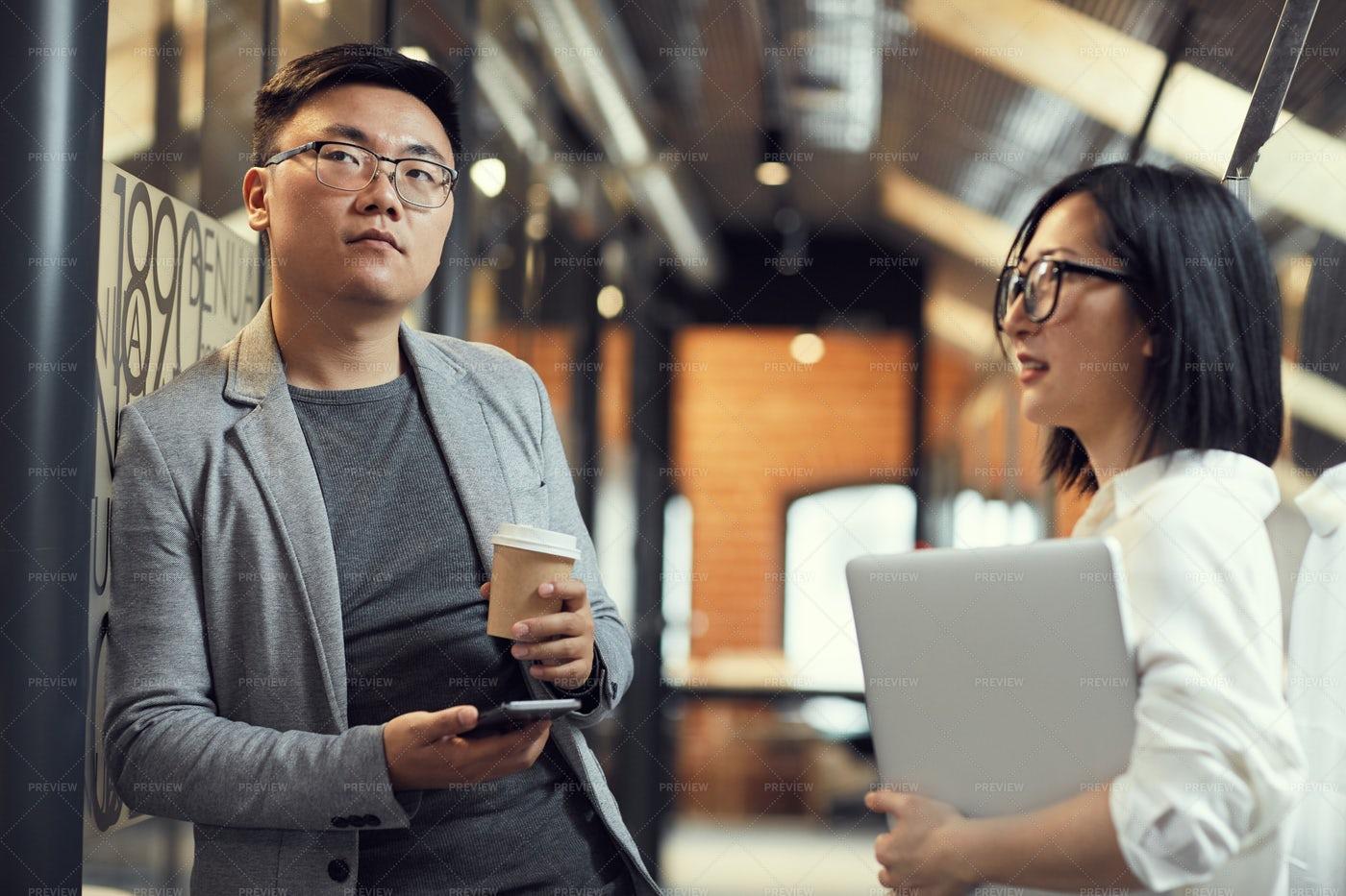 Asian Business People: Stock Photos