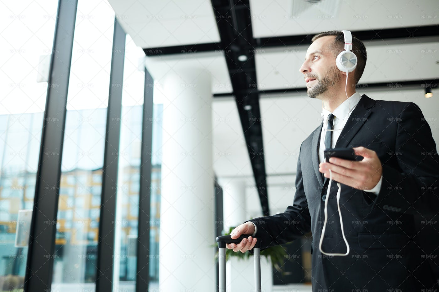 Music Before Departure: Stock Photos
