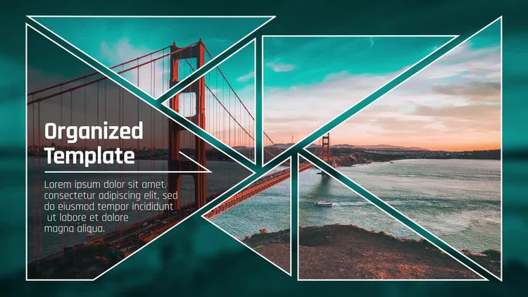 Triangle Presentation: After Effects Templates