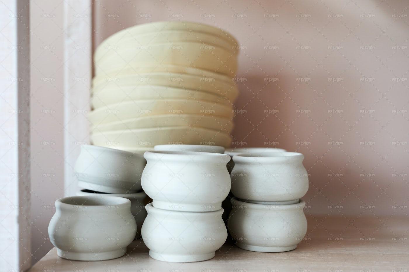 Handmade Ceramics: Stock Photos