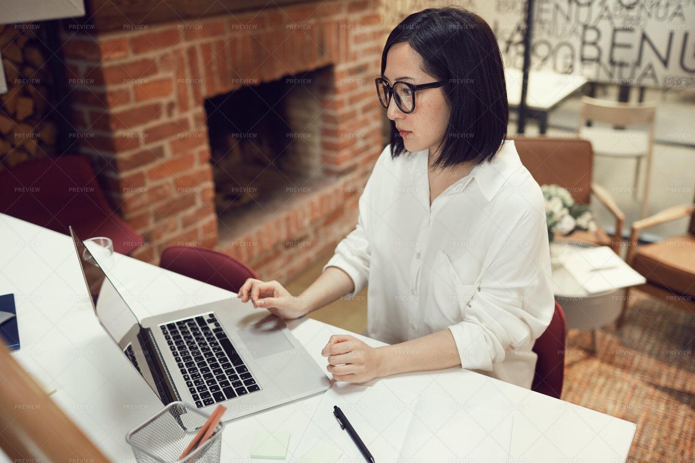 Female Asian Boss: Stock Photos