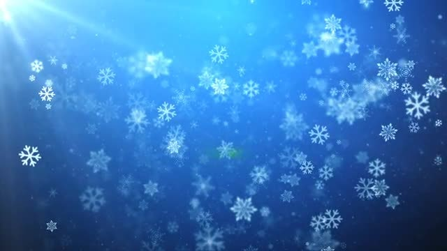 Christmas Snow: Stock Motion Graphics
