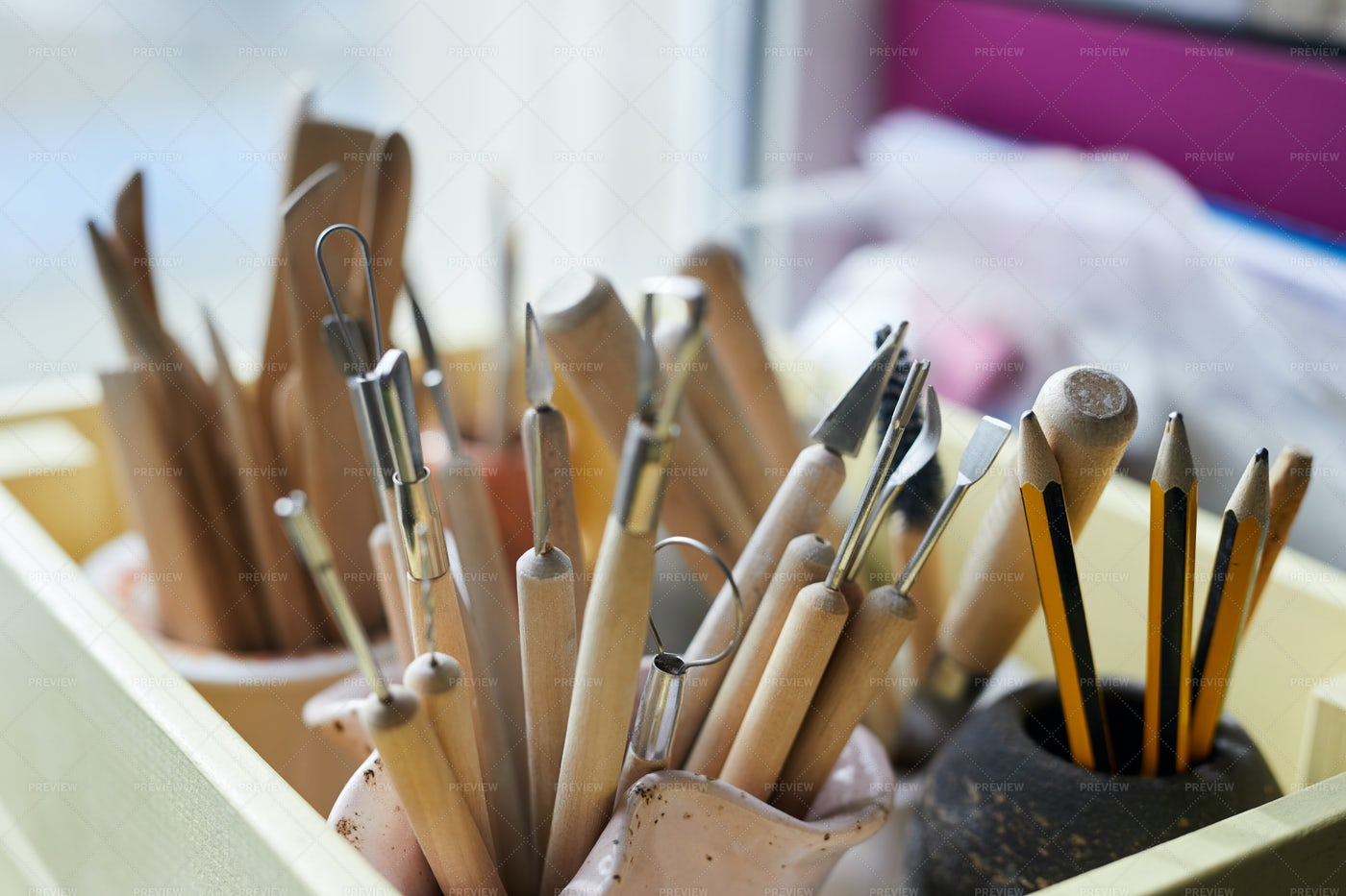 Crafting Tools: Stock Photos