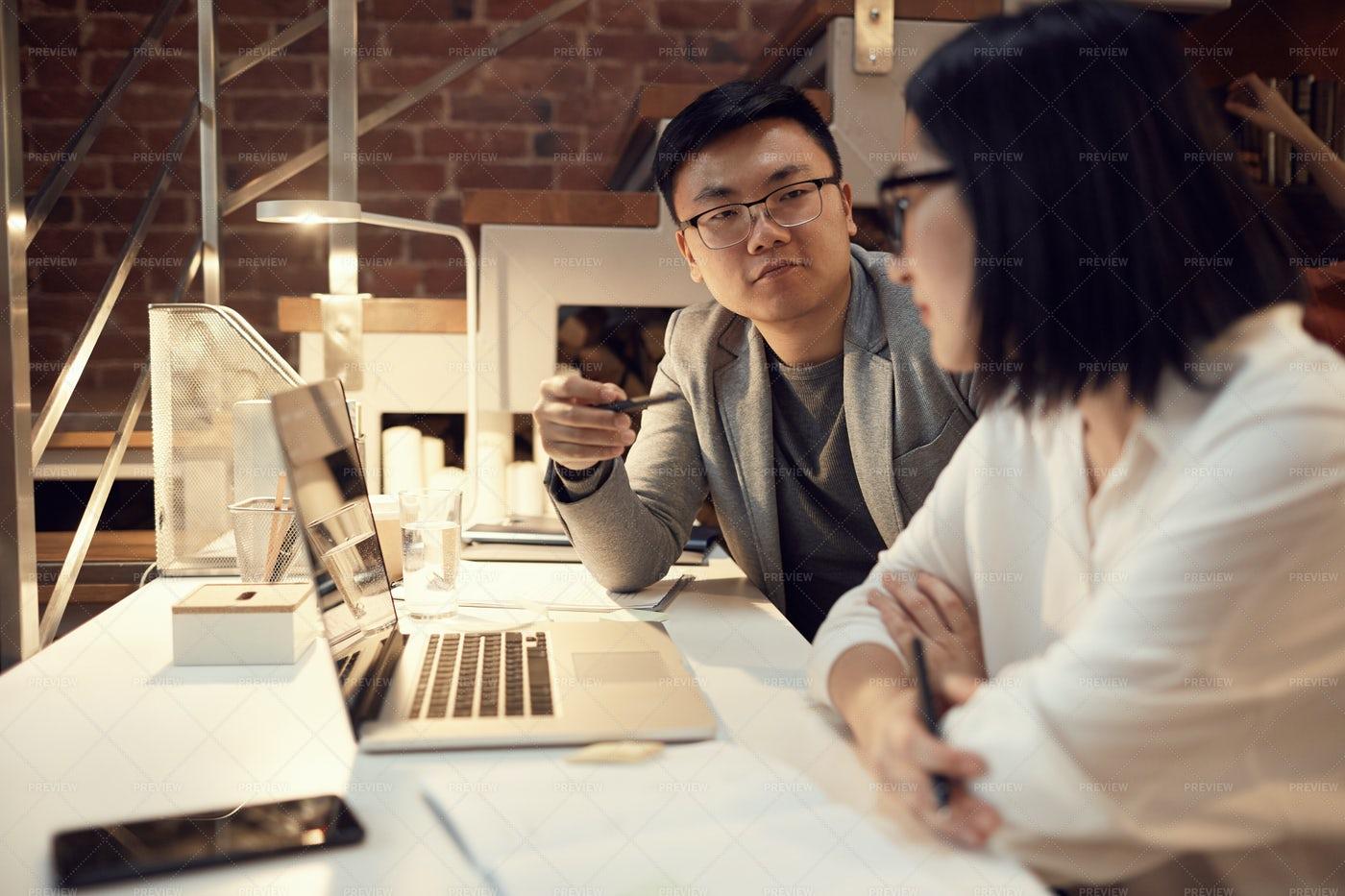 Asian Business Team: Stock Photos