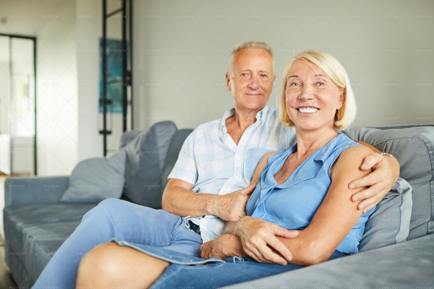 Successful Adult Couple Posing: Stock Photos