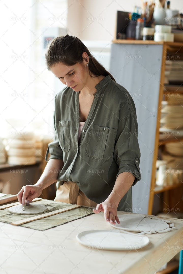 Young Female Artisan: Stock Photos