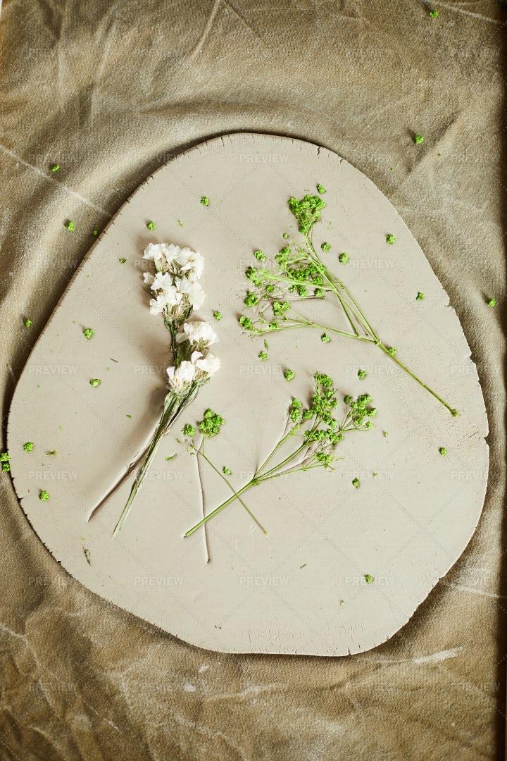Floral Ceramics: Stock Photos