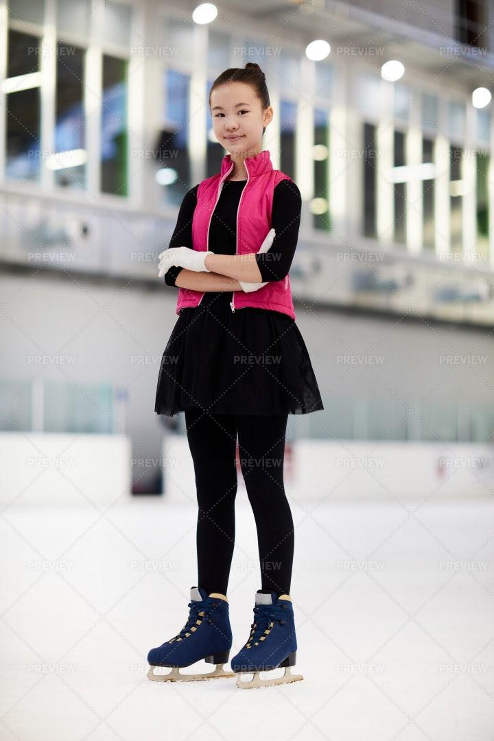 Asian Figure Skater: Stock Photos