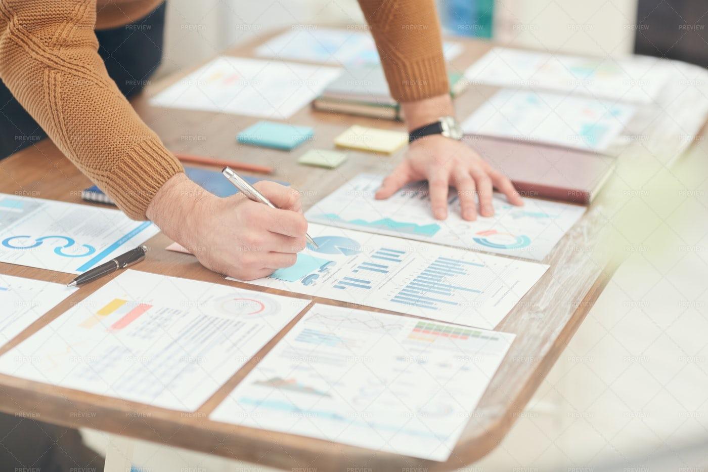 Businessman Planning Project...: Stock Photos