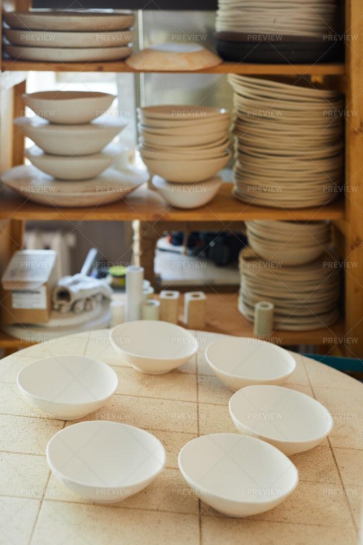 Ceramic Workshop: Stock Photos