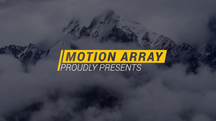 Creative Minimal Titles: After Effects Templates