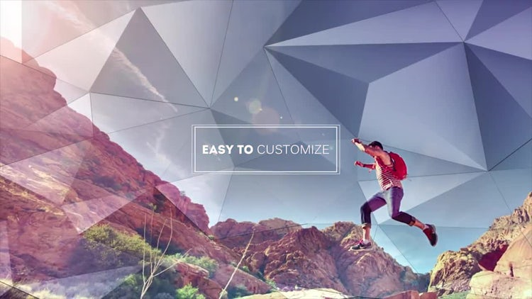 Diamond Slide: After Effects Templates