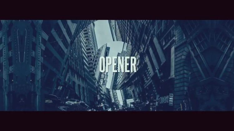 Dynamic Stomp Opener 2: After Effects Templates