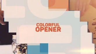 Colorful Opener: After Effects Templates