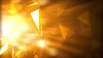 Golden Light Rays: Motion Graphics