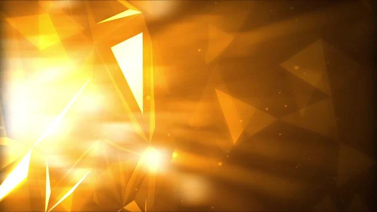 Golden Light Rays: Stock Motion Graphics