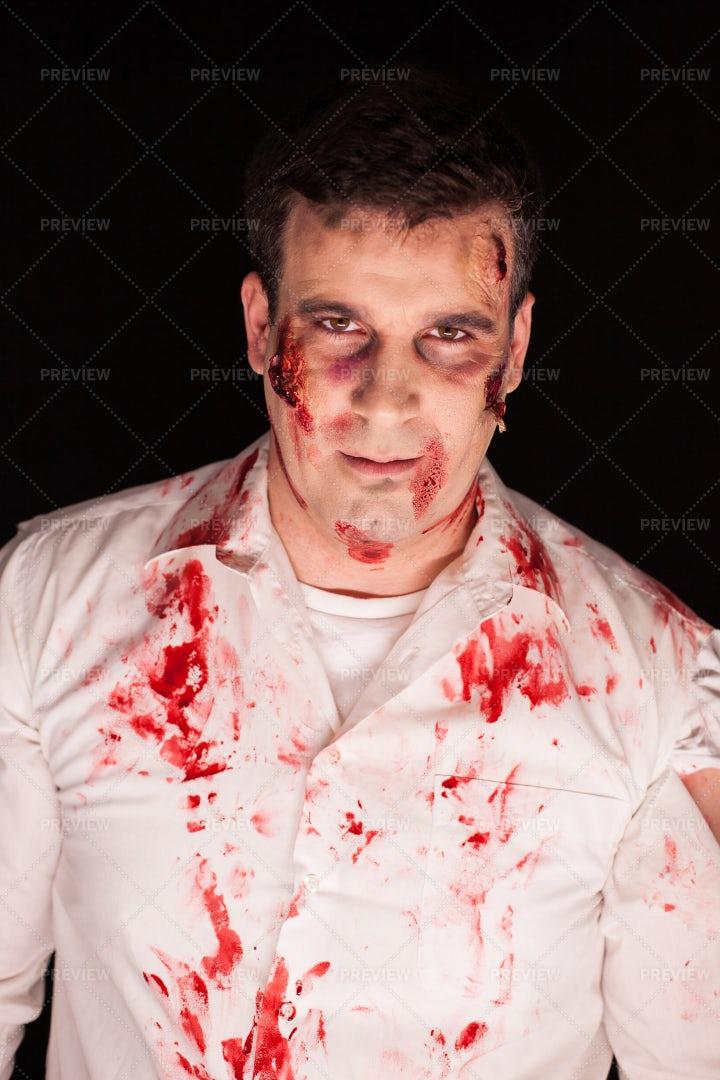 Zombie Costume: Stock Photos