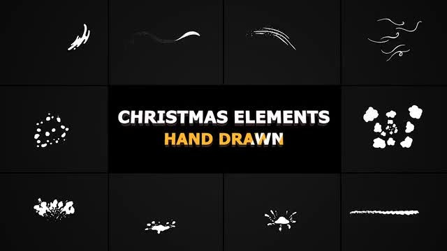 Christmas Elements: Stock Motion Graphics