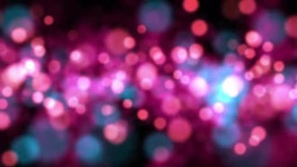 Romantic Pink Bokeh: Motion Graphics