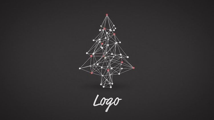 New Year Abstract Logo: After Effects Templates