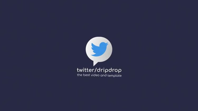 Drop Logo Reveal: After Effects Templates