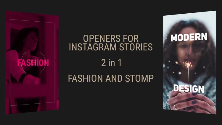 Instagram Stories Slideshow: Premiere Pro Templates