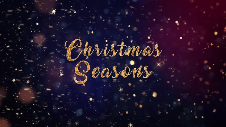 Christmas Seasons: Premiere Pro Templates