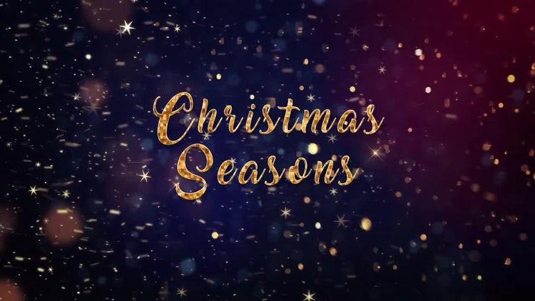 Christmas Seasons: Premiere Pro Templates